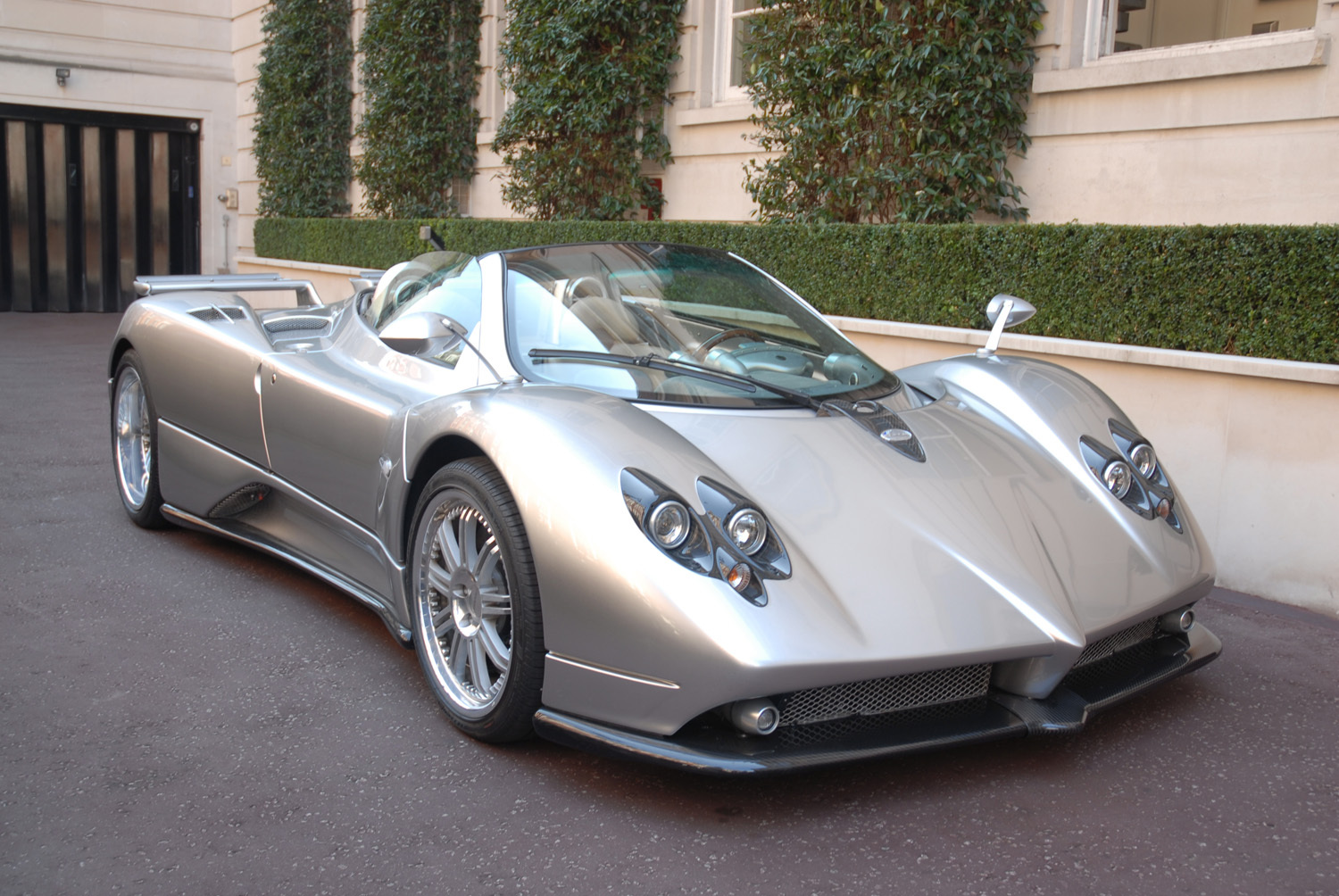 2008 pagani zonda f roadster one of one for sale buy aircrafts. Black Bedroom Furniture Sets. Home Design Ideas