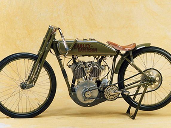 Harley Davidson: 1917 Harley Davidson V-Twin Racer