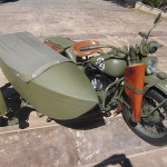1942 Harley Davidson WLA with Sidecar