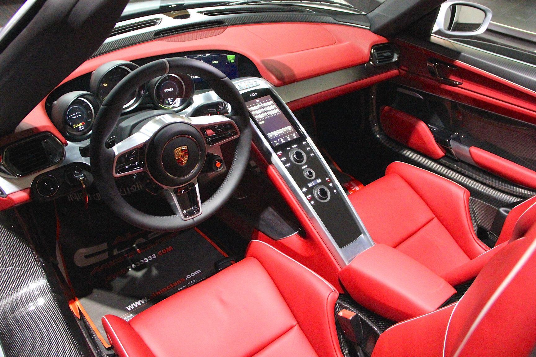 918 spyder for sale buy aircrafts - Porsche 918 interior ...