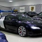 2009 Audi R8 V8 Exclusive, GCC Specs (Spyder Wheels,Carbon Package)