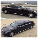 Armoured Mercedes S500 4matic stretched and armured in Level VR7 made in Germany High Quality