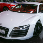 Audi R8 Exclusive V10 Quattro 2015 White/Red Brand New !!