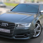 Audi S8 V8 T 2015 Grey/Brown 2,000 KM   3 Years Warranty + 5 Years Service Contract