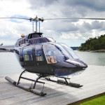 Bell 206B3 new deluxe interior and paint 2012