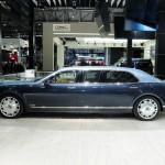 Bentley Mulsanne stretched and armoured in Level VR7 German/Swiss Quality Gepanzert und verlängert
