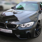 BMW M4 Convertible 2015 Black/Red 4,000 KM | Warranty Till Sep-2019 !!