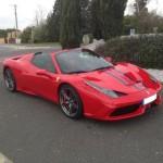 ferrari 458 speciale A APERTA 499 exemplaire . new cars