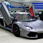 Lamborghini Aventador LP700-4 Roadster 2015, (Al Jaziri)Under Warranty, GCC Specs