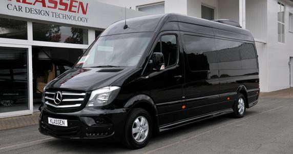 Mercedes benz sprinter klassen luxury business van for Mercedes benz sprinter luxury