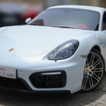 Porsche Cayman GTS 2015 White/Red 13,000 KM | Warranty Till Sep 2016